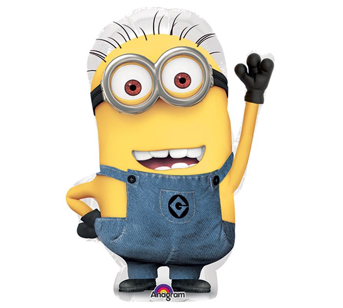 Minion Cut Out Character 14 Foil Balloon 1 Nikko S