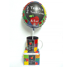 Mugs & Balloon